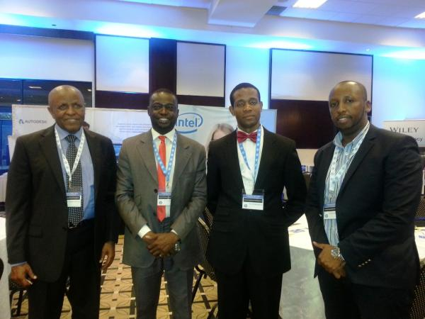 SES Representatives meeting with Congo Brazzaville Delegates