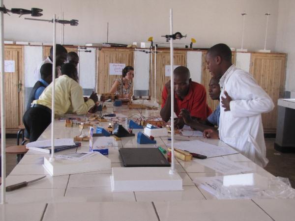 Teachers training at IPM Mukarange in Kayonza