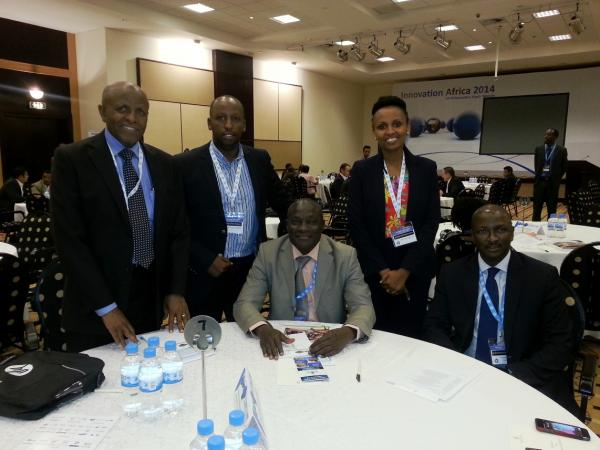 SES Representatives meeting with Ivory Coast Delegates