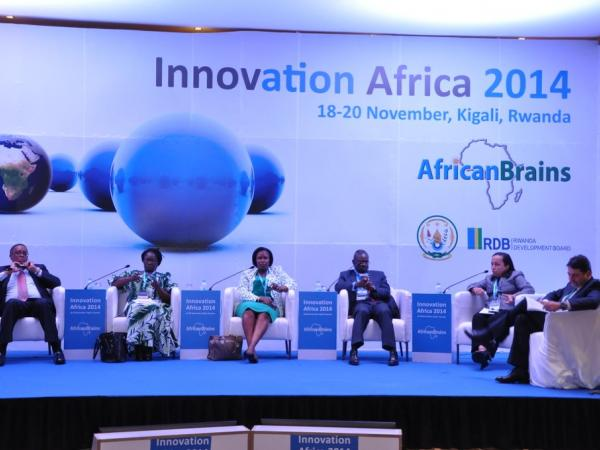 One session in Innovation Africa 2014