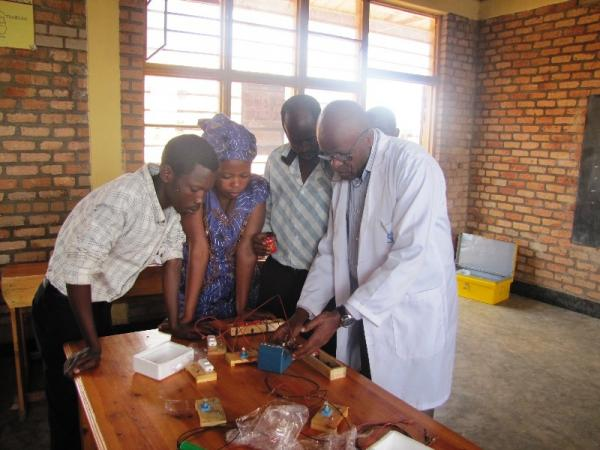 Delivery of lab materials to Kiruhura Primary School