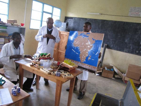 Delivery of SET kit to Rukore Primary School