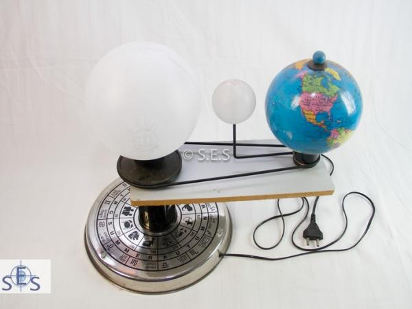 Solar and Lunar Eclipses Model