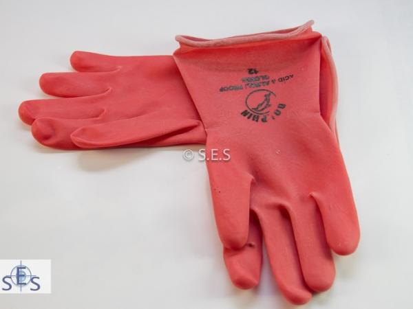 Gloves Rubber Pair